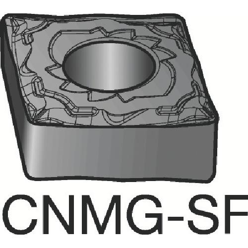 サンドビック T-Max P 旋削用ネガ・チップ S05F 10個 CNMG 12 04 08-SF:S05F