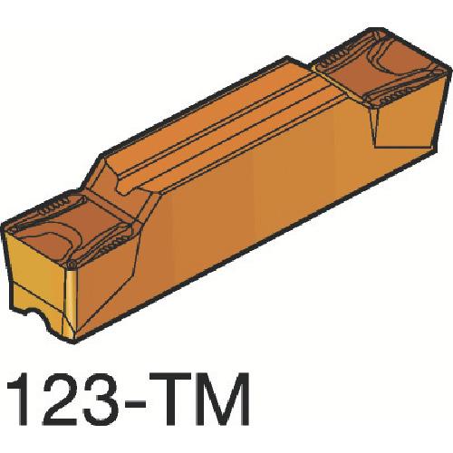 サンドビック コロカット2 突切り・溝入れチップ H13A 10個 N123H2-0400-0008-TM:H13A
