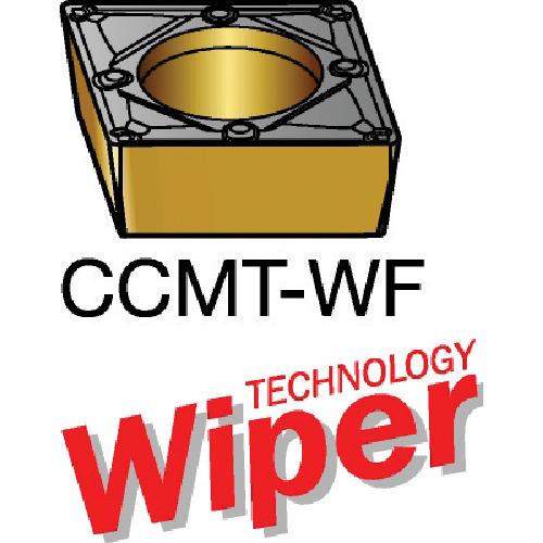 サンドビック コロターン107 旋削用ポジ・チップ 5015 10個 CCMT 09 T3 08-WF:5015