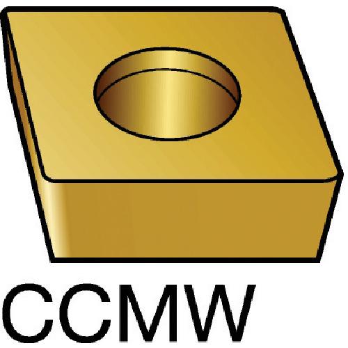 サンドビック コロターン107 旋削用ダイヤモンドポジ・チップ CD10 5個 CCMW 09 T3 04FP:CD10