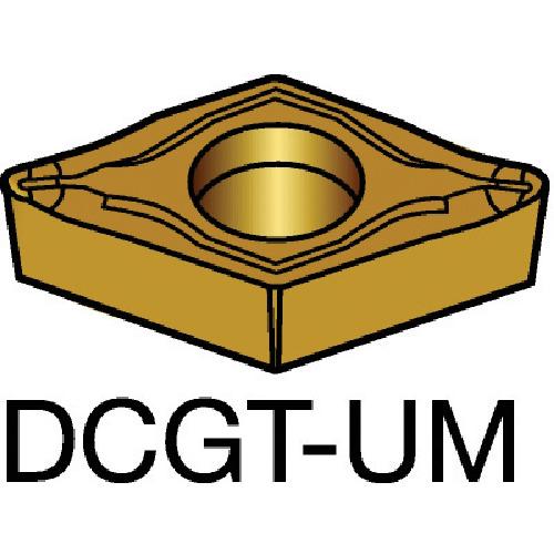サンドビック コロターン107 旋削用ポジ・チップ 5015 10個 DCGT 11 T3 01-UM:5015
