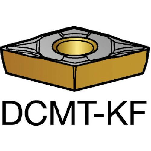 サンドビック コロターン107 旋削用ポジ・チップ 3005 10個 DCMT 11 T3 04-KF:3005