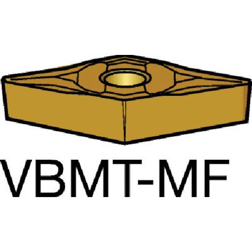 サンドビック コロターン107 旋削用ポジ・チップ 2025 10個 VBMT 11 03 08-MF:2025