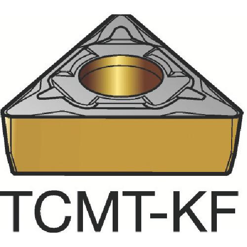 サンドビック コロターン107 旋削用ポジ・チップ H13A 10個 TCMT 16 T3 04-KF:H13A