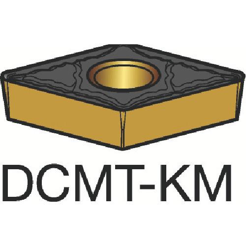 サンドビック コロターン107 旋削用ポジ・チップ 3210 10個 DCMT 11 T3 04-KM:3210