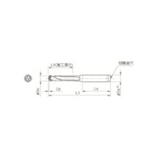 京セラ ドリル用ホルダ SS25-DRC230M-3