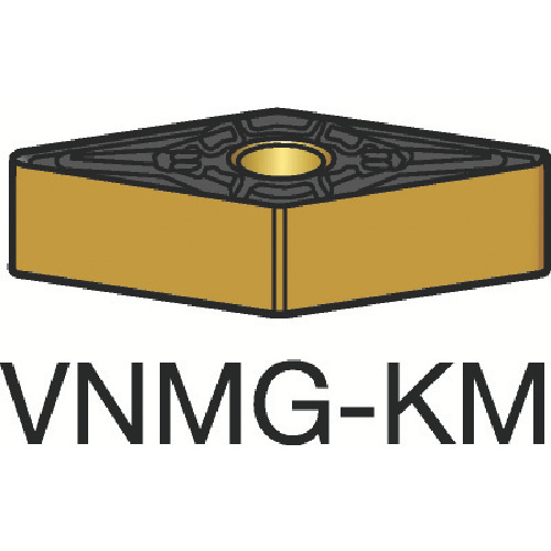 サンドビック T-Max P 旋削用ネガ・チップ 3210 10個 VNMG 16 04 12-KM:3210