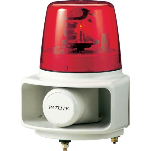 パトライト ラッパッパホーンスピーカー一体型 色:赤 RT-100A-R