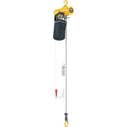 【運賃見積り】【直送品】キトー エアホイスト 懸垂形 引きひも方式 標準揚程3m TCSH04CS
