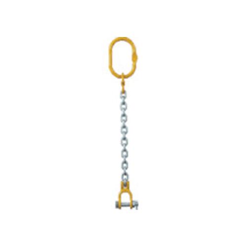 象印 チェーンスリング100(アイタイプ)荷重2.5t線径10.0mmL1.5m 1-MFF-YR-10