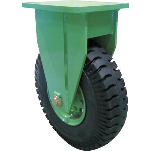 【運賃見積り】【直送品】佐野車輌 超重量級キャスター シングル固定車 荷重2000kgタイプ LPHK-2000