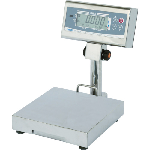 【直送品】ヤマト 防水卓上形デジタル台はかり DP-6600K-6(検定品) DP-6600K-6