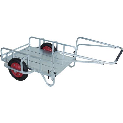 【運賃見積り】【直送品】HARAX 輪太郎 13×3Tエアー入タイヤ 積載面970×690 BS-1068