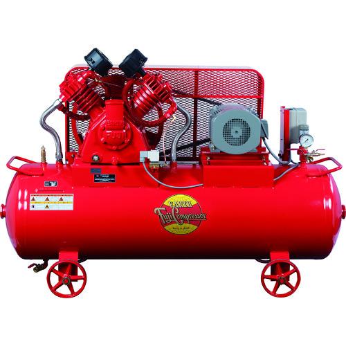 【直送品】富士 汎用空冷二段圧縮コンプレッサ 50Hz W-33PMT-5
