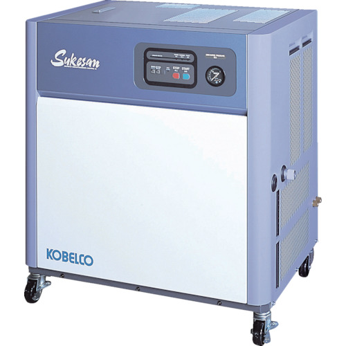 【直送品】コベルコ 油冷式スクリューコンプレッサー 2.2kW AS3PD3-5