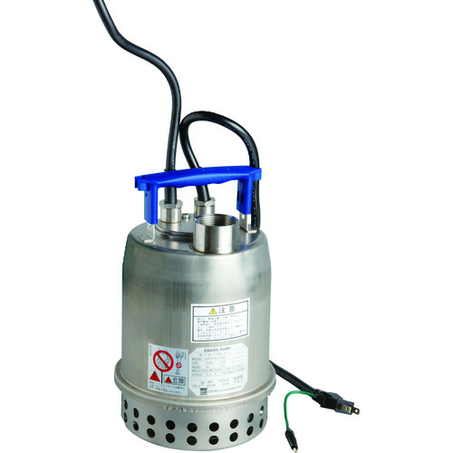 【運賃見積り】【直送品】エバラ ステンレス製水中ポンプ 自動運転型 60Hz 32P707A6.2SA