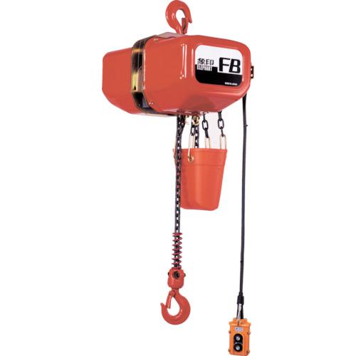 【直送品】象印 FB型電気チェーンブロック2t(2速型)3m F6-02030