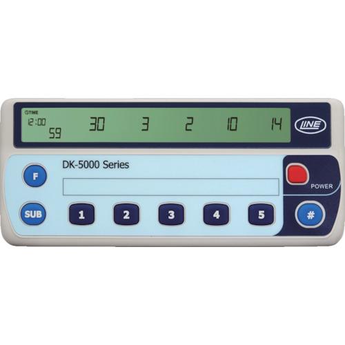 ライン精機 電子数取器 5連式 DK-5005B