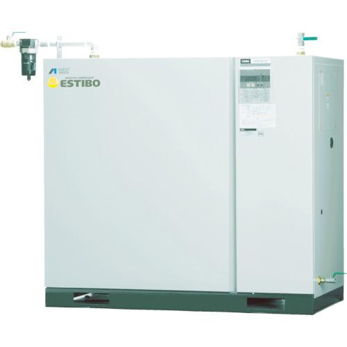 【直送品】アネスト岩田 オイル式ブースタコンプレッサー 5.5KW 60HZ CLBS55C-30M6