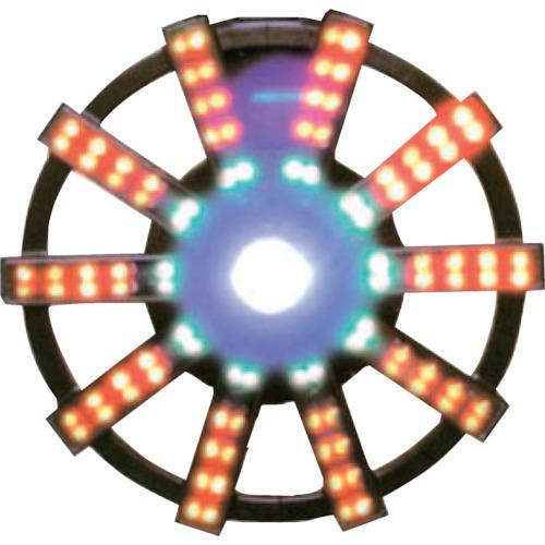 【運賃見積り】【直送品】グリーンクロス ソーラー式フラッシュ警告灯 本体のみ 1109500411