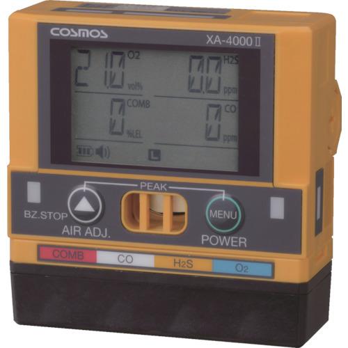 【直送品】新コスモス ガス検知器(複合) 対象ガス 可燃性ガス(メタン)、硫化水素、酸素、一酸化炭素 XA-4400-2