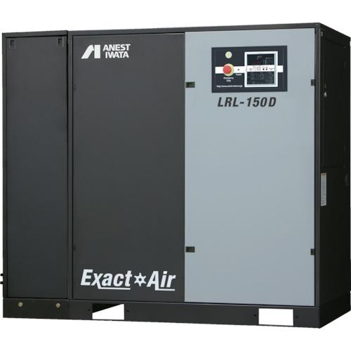 【直送品】アネスト岩田 給油式スクリューコンプレッサD付き60Hz37kW LRL-370DM6