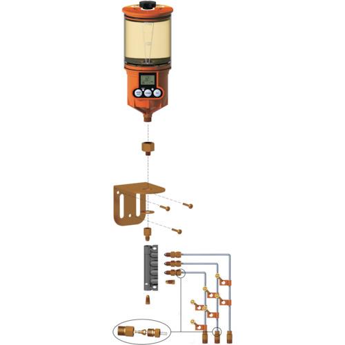 パルサールブ OL500オイル用 遠隔設置キット(3箇所) 1250RO-3
