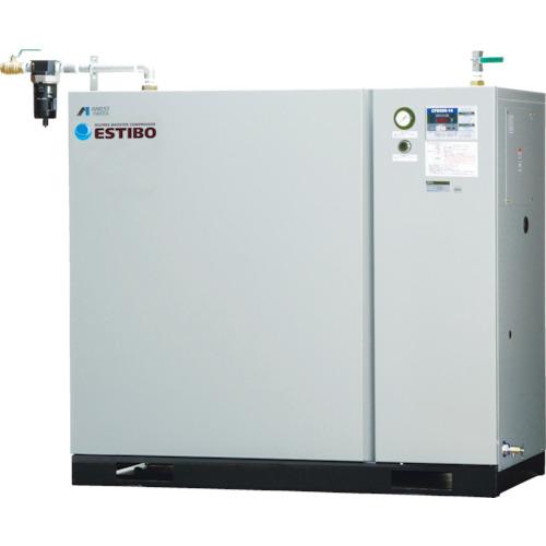 【直送品】アネスト岩田 オイルフリーブースターコンプレッサ 7.5KW 50Hz CFBS75BF-20M5