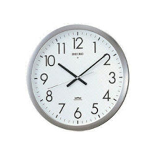 SEIKO 電波掛時計 直径421×48 金属枠 KS266S