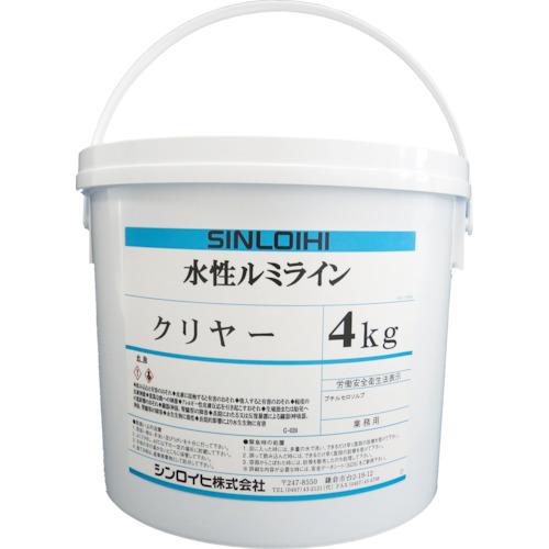シンロイヒ 水性ルミラインクリヤー 4kg 2000MX