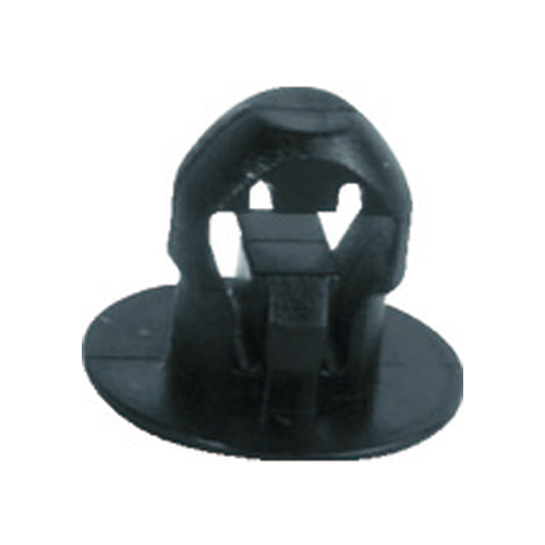 SapiSelco ケーブルタイ固定具 押込み型 4.5mm 黒 (1000個) SUB.3.2301