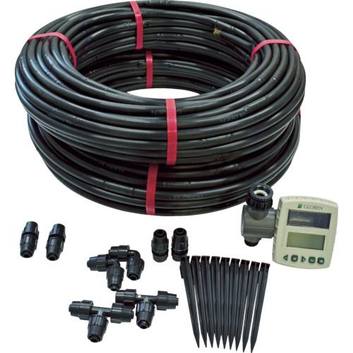 【運賃見積り】【直送品】グローベン 自動散水ドリップチューブセット C10SK620TR