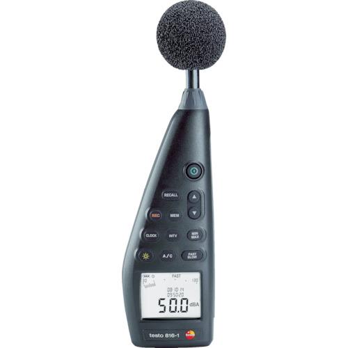 【運賃見積り】【直送品】テストー 普通騒音計 TESTO816-1