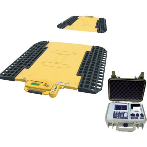 【運賃見積り】【直送品】SHUZUI ロードメーター スーパージャンボMAX 秤量20t 2パッド 静止計量 SJ2-10