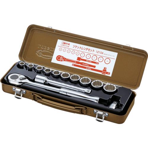 エビ ソケットレンチセット 差込角12.7mm 12角 1210A