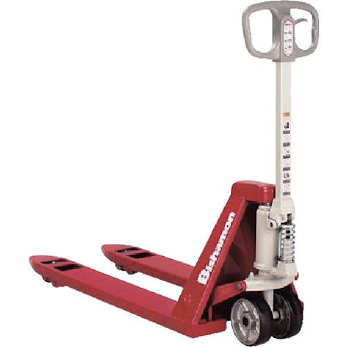 【運賃見積り】【直送品】ビシャモン ハンドパレット 低床式 均等荷重1500kg フォーク長さ1400mm BM15L3-L65
