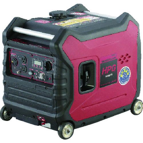 【運賃見積り】【直送品】MEIHO エンジン発電機 HPG3000IS
