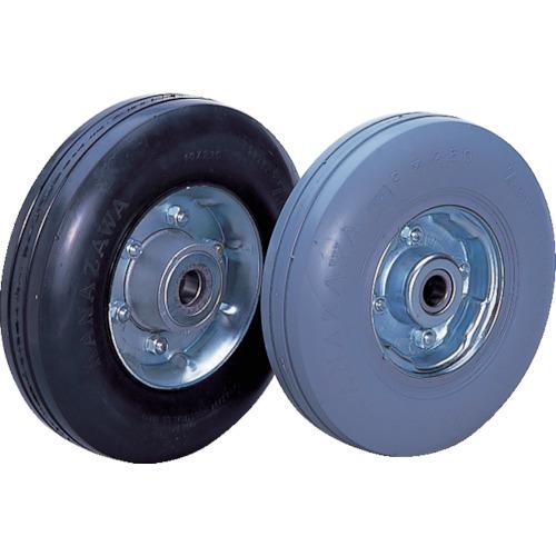 車輪径D230mm カナツー ゼロプレッシャータイヤ ZP9X2.50MS-GY 車輪 許容荷重140kgf
