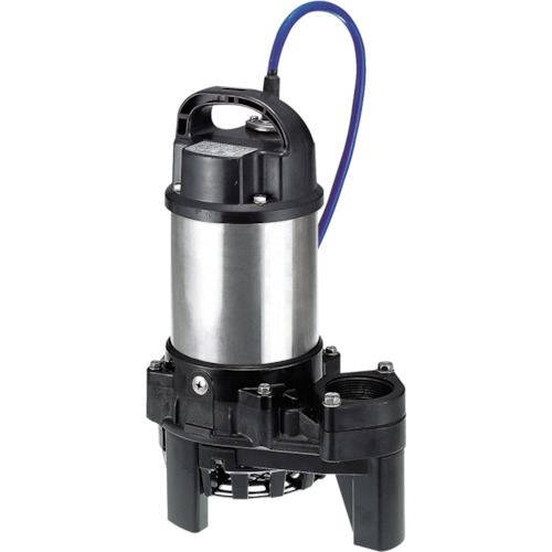 【直送品】ツルミ 海水用水中チタンポンプ 60HZ 口径50mm 単相100V 50TM2.4S 60HZ