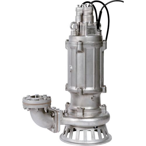 【直送品】ツルミ 耐食用ステンレス製水中渦巻ポンプ 60HZ 80SFQ27.5 60HZ