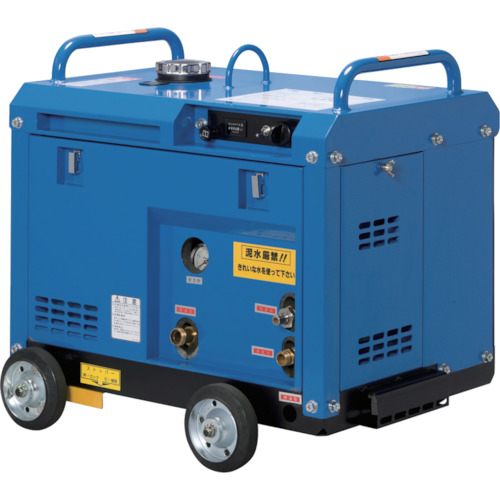 【直送品】ツルミ 高圧洗浄機 エンジンシリーズ(防音タイプ) HPJ-5ESM