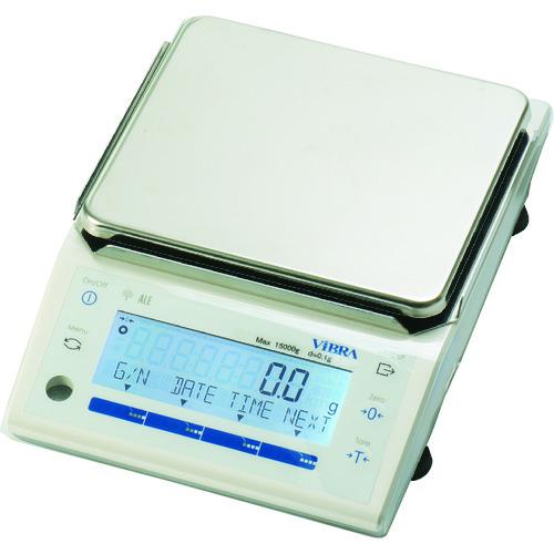 【直送品】ViBRA 高精度電子天びん 秤量2.2kg 最小表示0.01g ALE2202