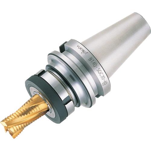 【運賃見積り】【直送品】ユキワ スーパーG1チャック 把握径1.0~6mm L165mm BT40-SGC6-165