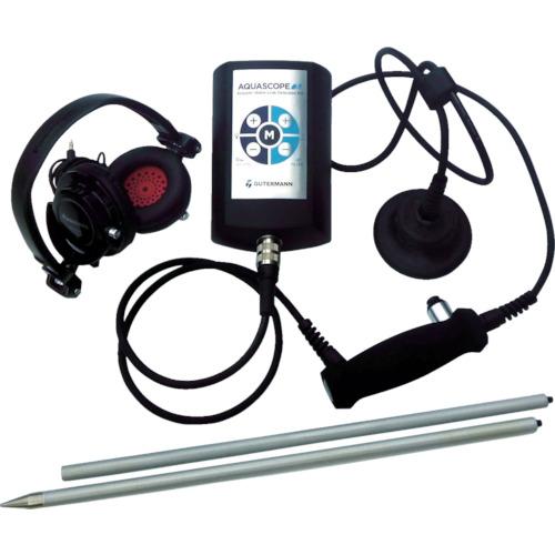 【個別送料1000円】【直送品】グッドマン デジタル式小型音聴式漏水探索機ポケットフォン AS3P