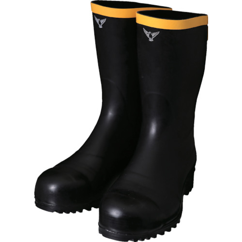 SHIBATA 安全静電長靴(先芯入り) AE011-28.0