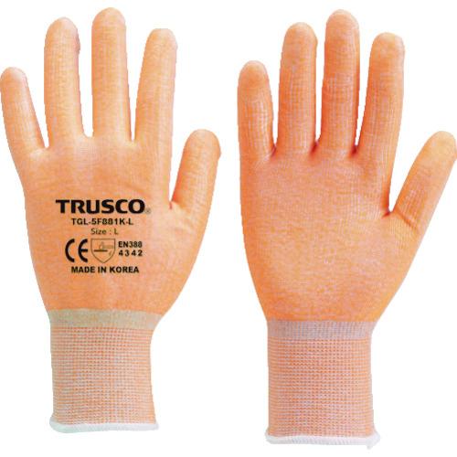 代表画像 色 サイズ等注意 TRUSCO 耐切創手袋 特売 蛍光オレンジ M TGL-5F981K-M レベル3 驚きの価格が実現