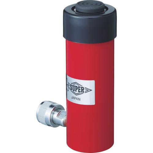 スーパー 油圧シリンダ(単動式) ストローク100mm 揚力100kN HC10S100N