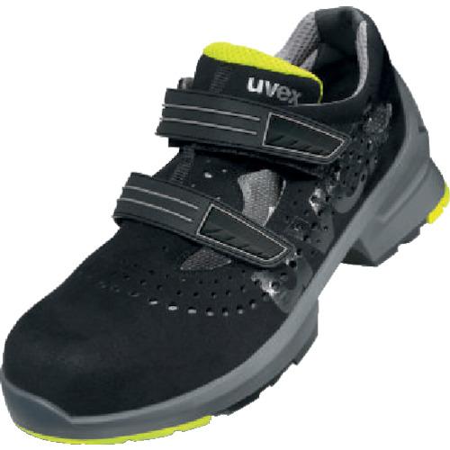 UVEX サンダル ブラック/ライム 26.0CM 8542.4-41