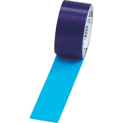 TRUSCO 特価 表面保護テープ 環境対応タイプ TSPW-5B ブルー 幅50mmX長さ100m 低価格