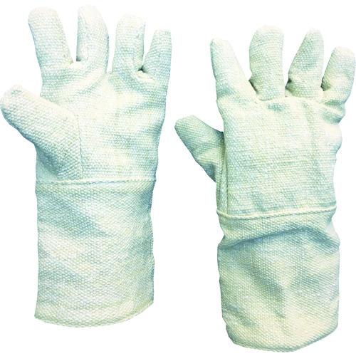 TRUSCO 生体溶解性セラミック耐熱手袋 5本指タイプ TCAT5-A